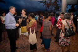 Reception for the 2018 Australia-PNG Emerging Leaders Dialogue. Cairns, Australia. 6 December 2018
